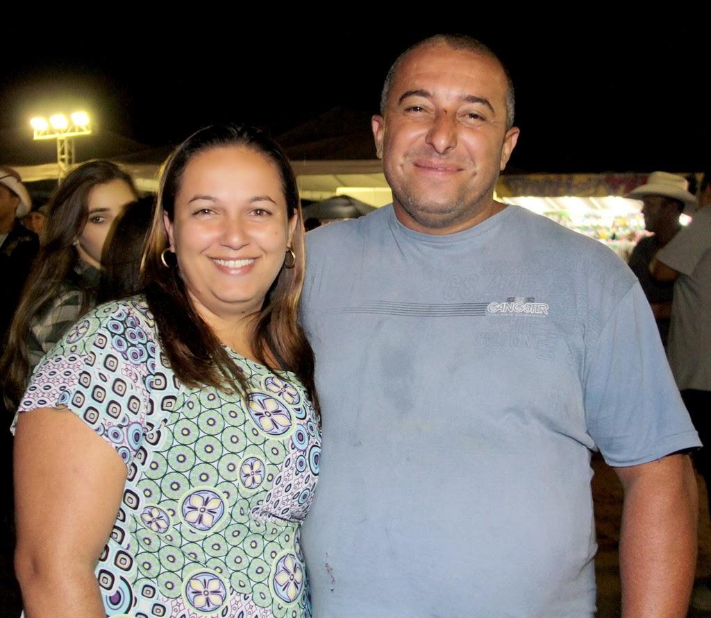 Arlene Rolim e Marcelo Silva: festa para toda a família