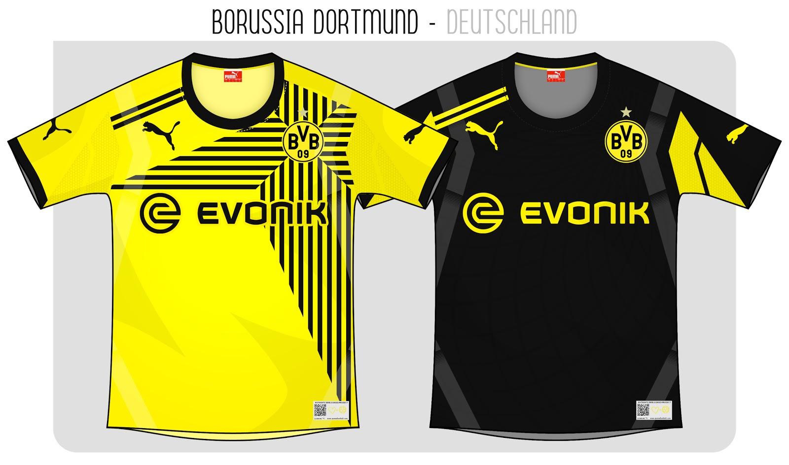 Kits Trikot Camisas Maillot  Borussia Dortmund e098998d6e389