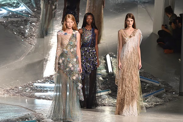 Rodarte Fashion show-