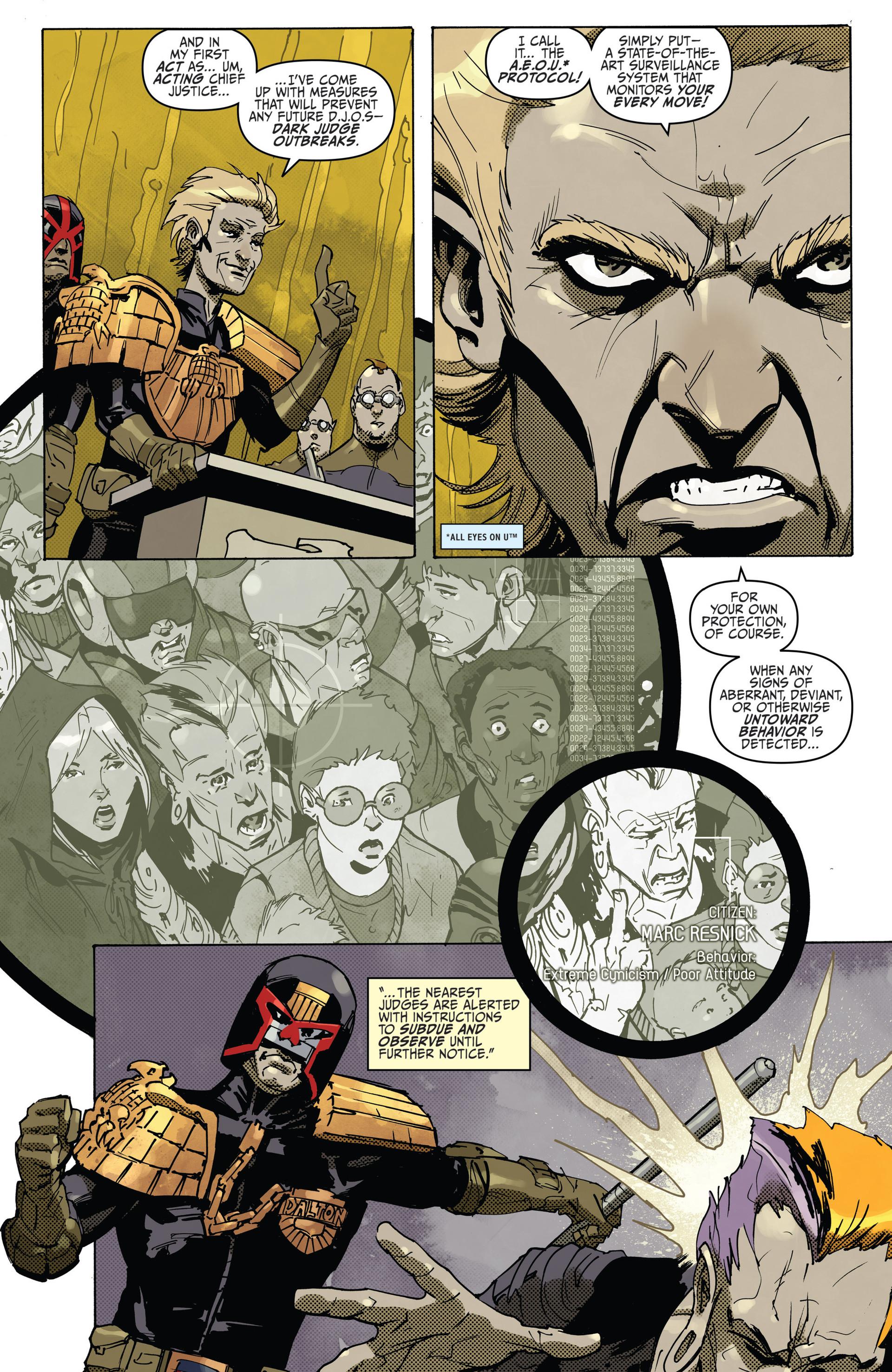 Read online Judge Dredd (2012) comic -  Issue #22 - 14
