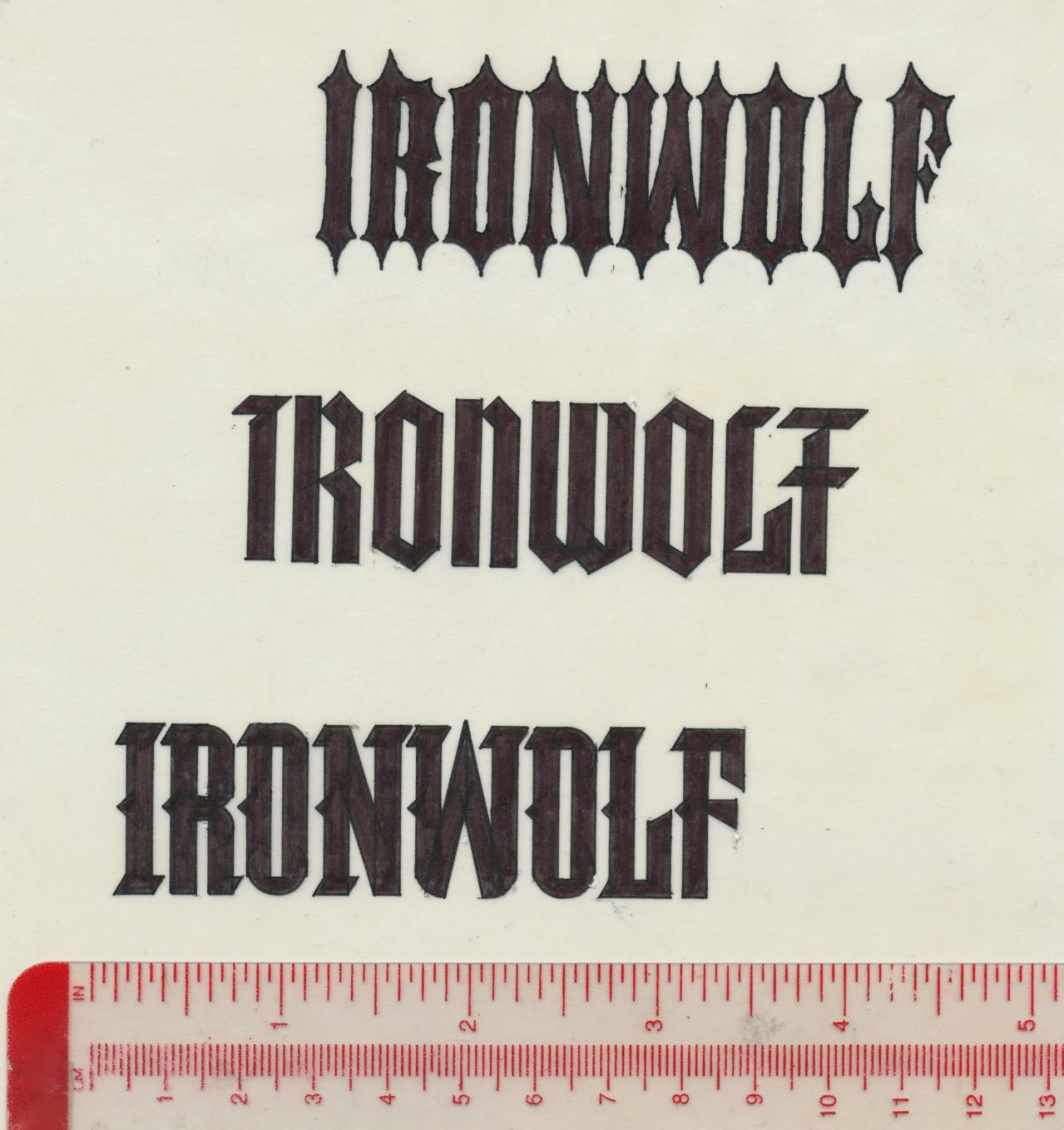 Tenth Letter of the Alphabet Anatomy of a Logo Ironwolf – Wanted Poster Letters
