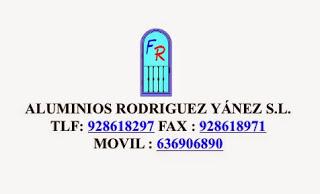 ALUMINIOS RODRÍGUEZ YÁNEZ, S.L.