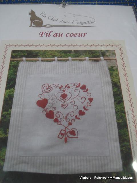 Kit Un Chat dans l'aiguille - Fil au coeur - Vilabors