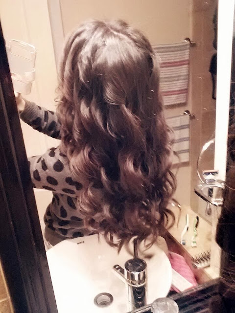 curling wand, curling iron, 25mm wand, 25 mm wand, review, curling iron review, cute, jose eber, José Eber, curls, long hair, hair style,