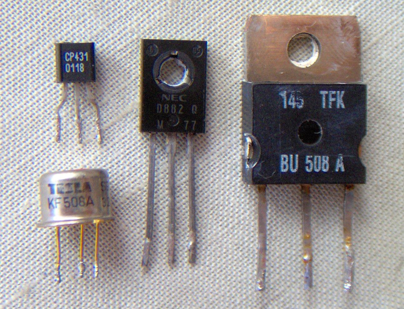 Facts About Transistors Factsninja Electronics Transistor Circuit