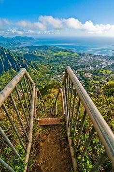 Haiku Stairs, Hawai,Oahu