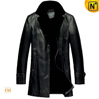 Black Fur Lined Coat