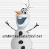 Free snowman from Frozen
