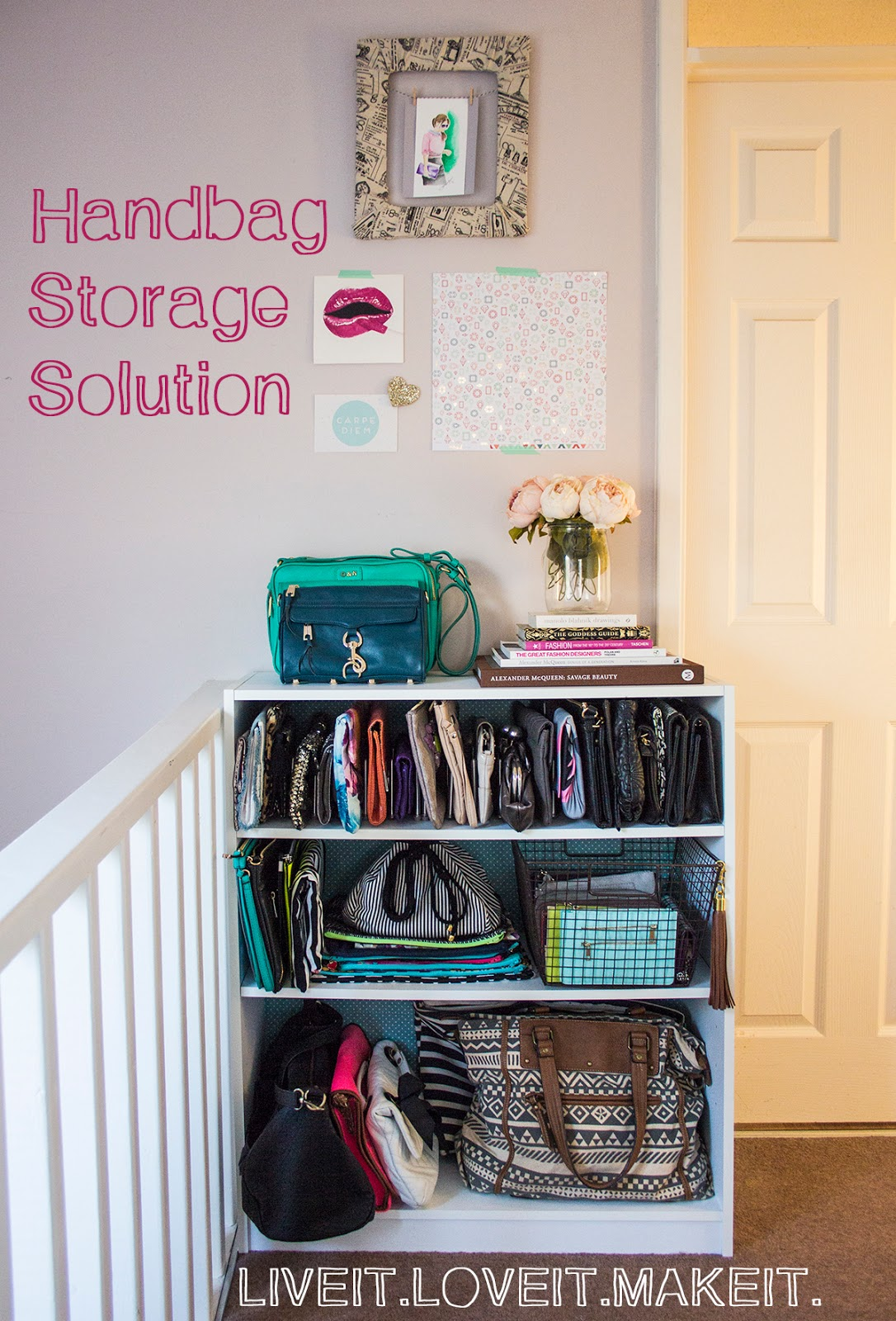 Delightful Make It: Handbag Storage Solution