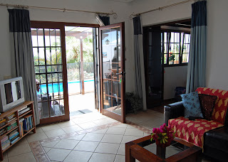 Lounge - looking out to the pool
