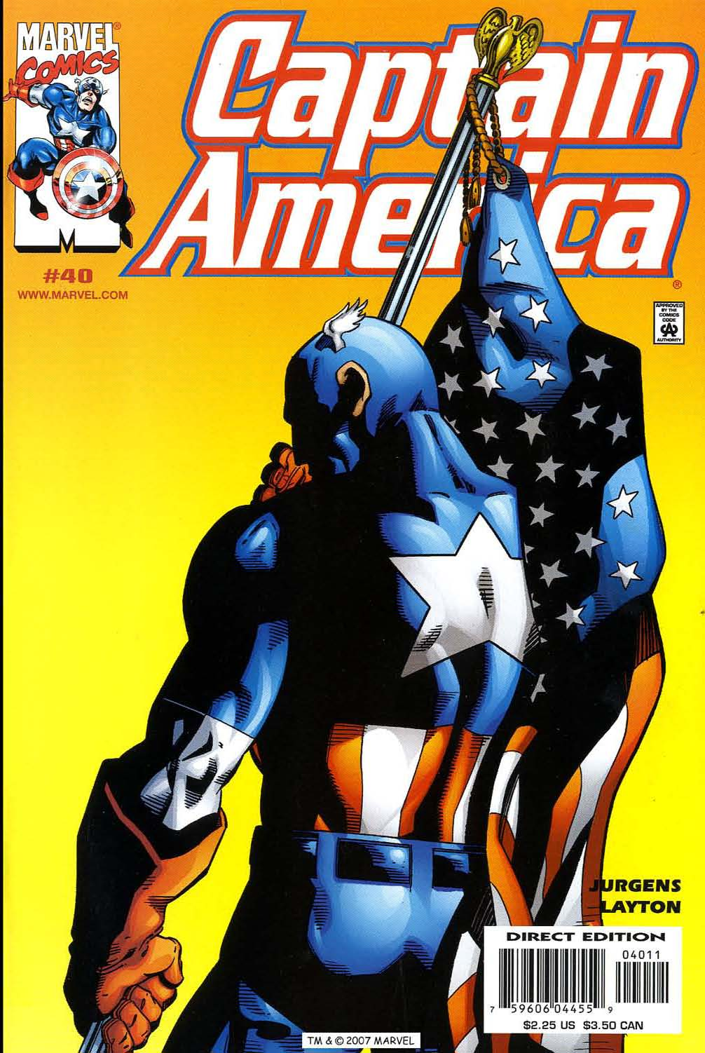 Captain America (1998) 40 Page 1