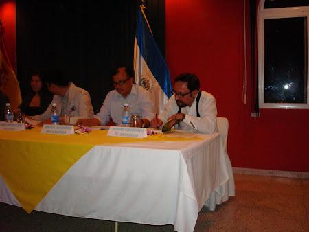 Lectura de poesía Centro español, El Salvador