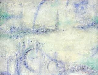 抽象画 油彩