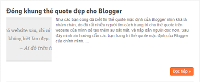 Auto readmore với thumbnail không bóp méo hình ảnh cho Blogger