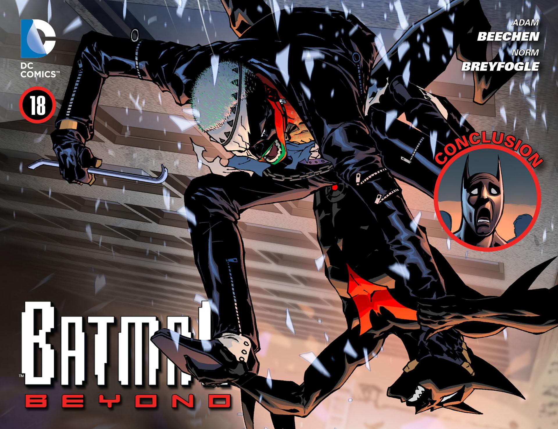 Batman Beyond (2012) Issue #18 #18 - English 1