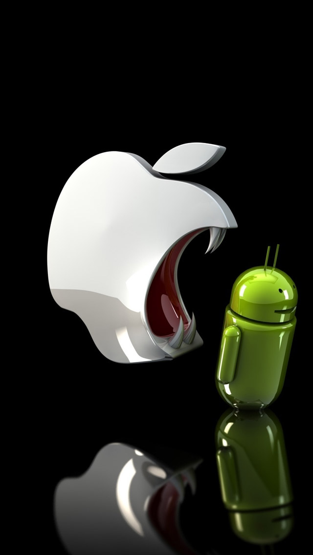 アップルvsアンドロイド