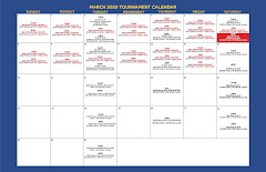 March Tournament Calendar