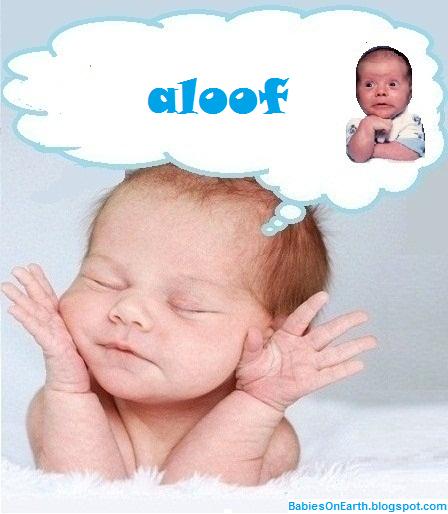 aloof