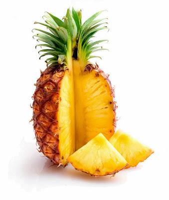 kandungan asam dalam buah nanas