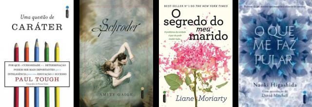 Lançamento de livros de março Editora Intrínseca