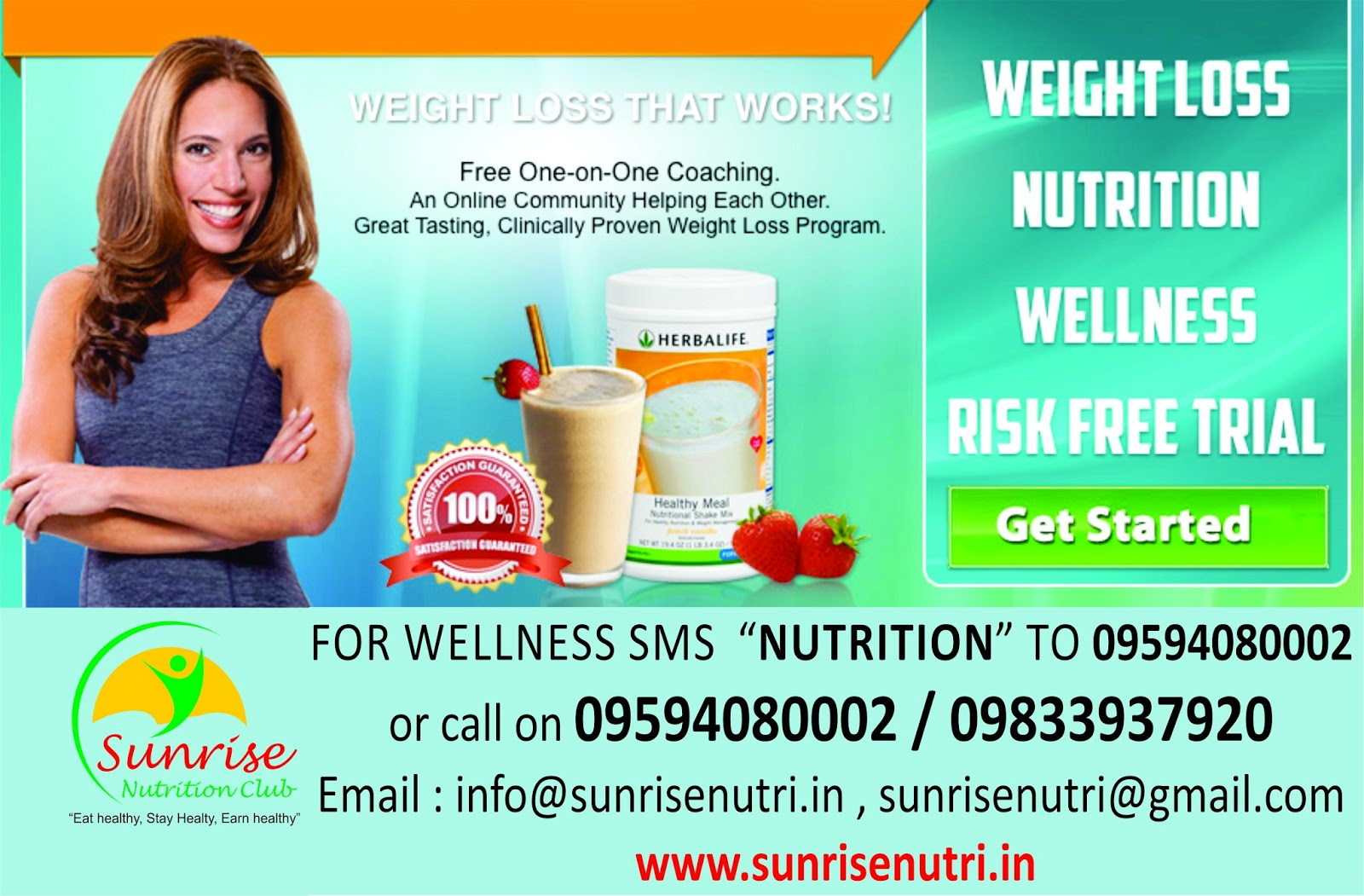 Sunrise Nutrition Club , Herbalife Independent Distributor in Navi ...