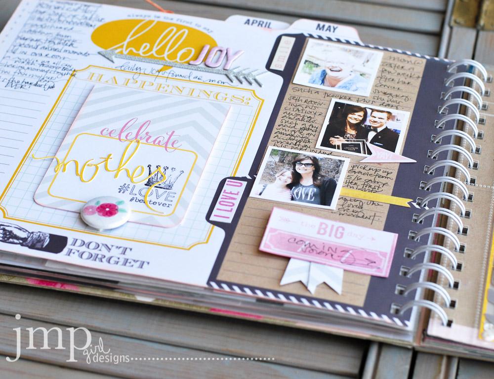 may memory planner | jamie pate