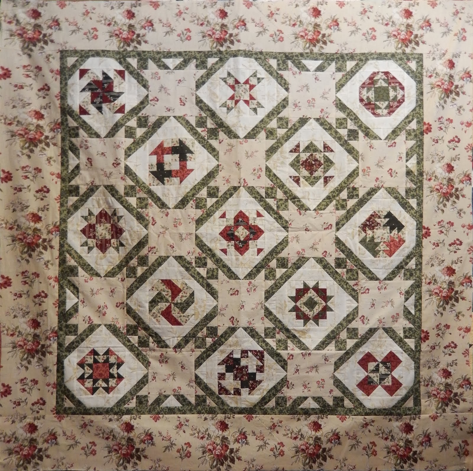 Open Gate Quilts BOM 2