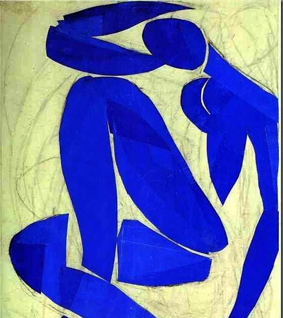 Matisse azul desnudo iv