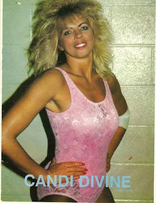 Candi Devine - Women Pro Wrestlers