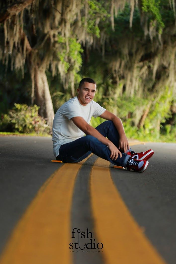 Cocoa Beach Senior pictures