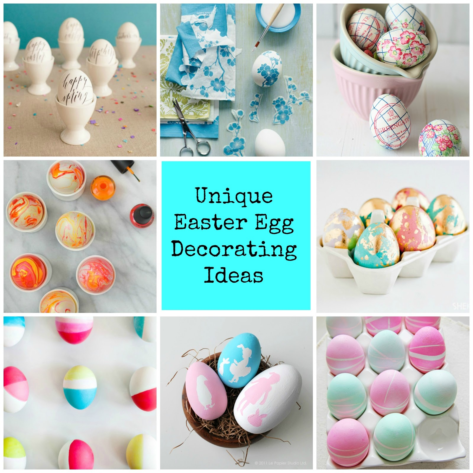 Anna and blue paperie creative and unique diy easter egg for Diy easter decorations home