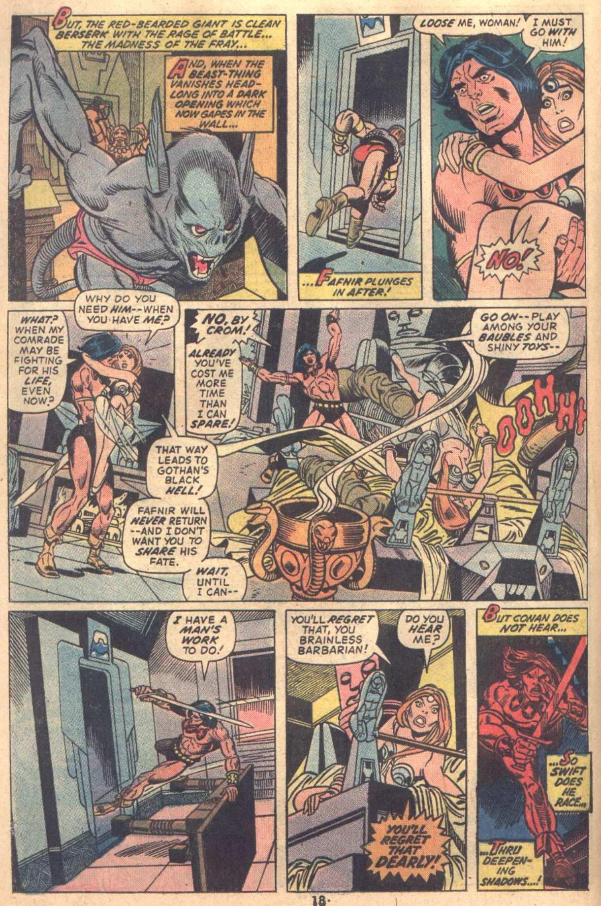 Conan the Barbarian (1970) Issue #18 #30 - English 14