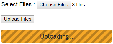 asp.net multiple file upload with progress bar