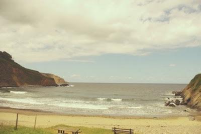 Castrillón, playa de Bainas