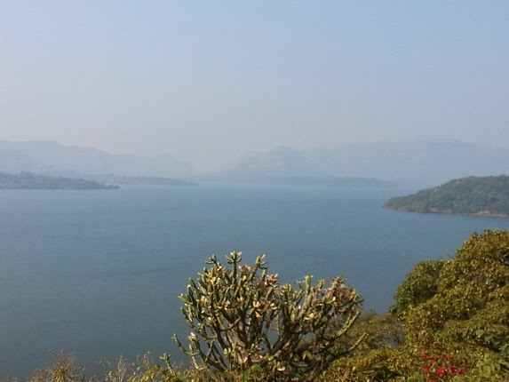 Breath taking view of the Mulshi back waters