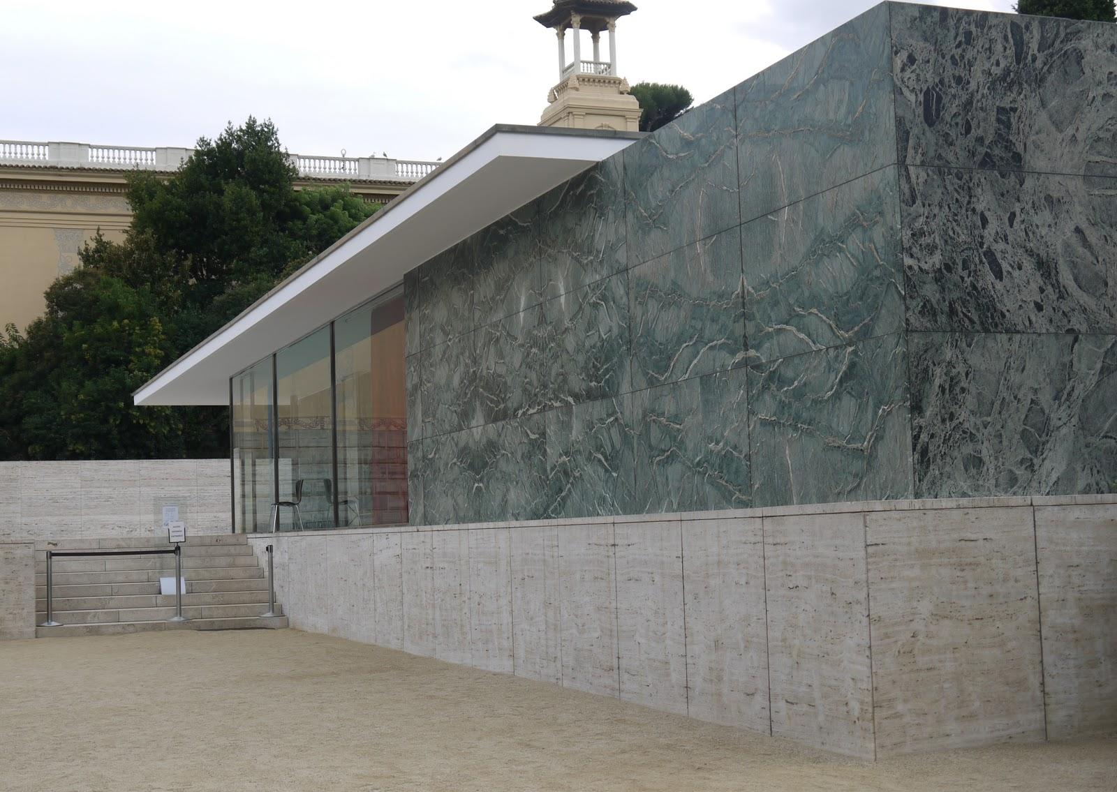 UntitleDV.com: Padiglione di Barcellona 1929 _ Mies Van Der Rohe _ Barcellona...