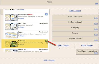 Kostumisasi Widget Follower Count menggunakan Google Friendconnect