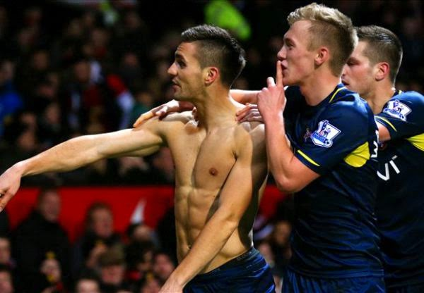 Hasil pertandingan Liga Inggris 2015 Manchester United vs Southampton