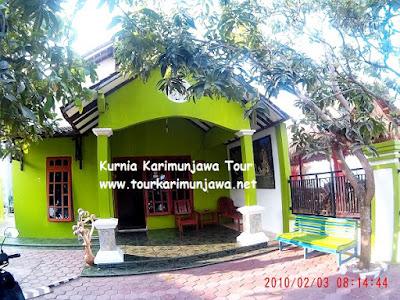 halaman depan homestay griya citra