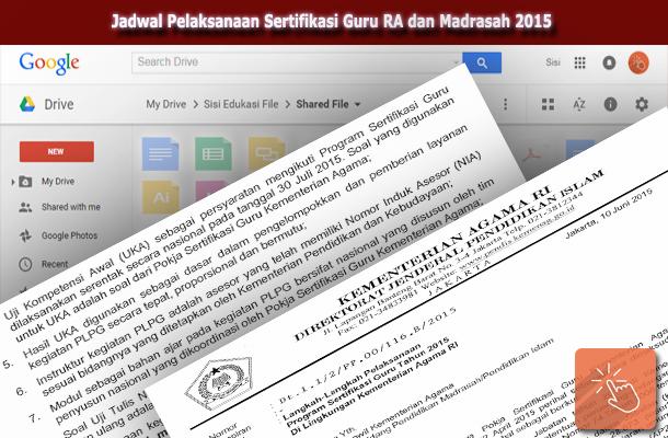 Jadwal Pelaksanaan Sertifikasi Guru RA dan Madrasah 2015