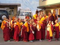 Young monks at Kopan Monastery