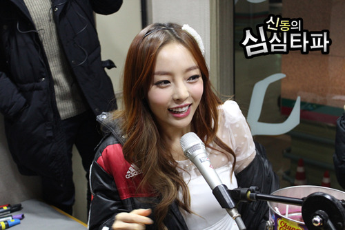 GOO HARA KARA PHOTO Simsimtapa Radio Show