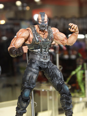 Square Enix Play Arts 2013 Toy Fair Display - The Dark Knight Rises Bane figure