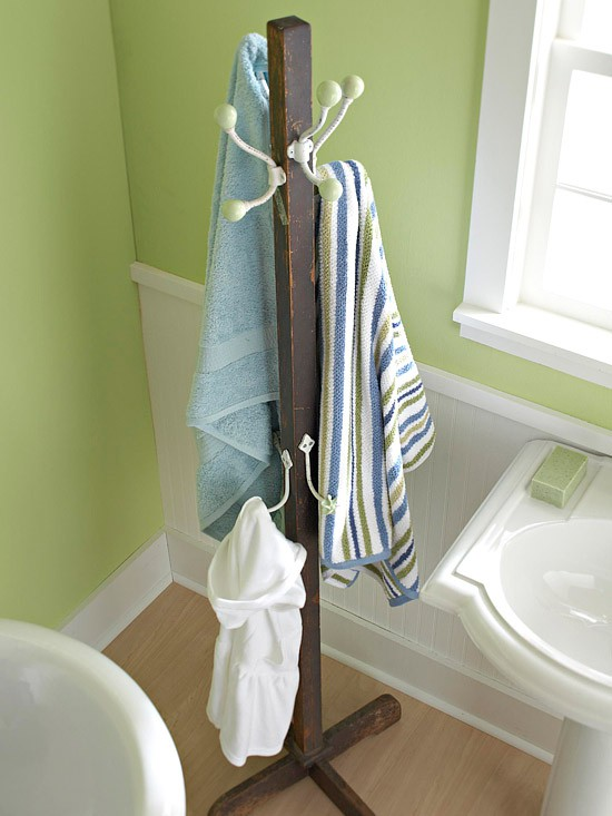 Decorate The Bathroom How To Organize Towels
