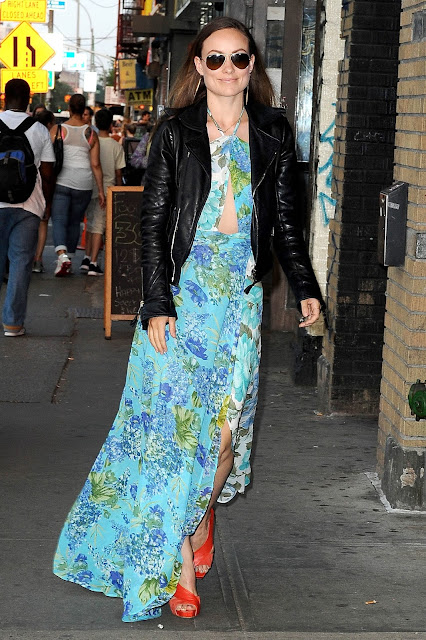 Actress @ Olivia Wilde - Out and about in New York City