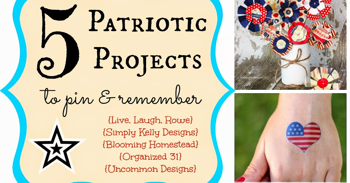 Five patriotic projects to pin amp remember muslin and merlot