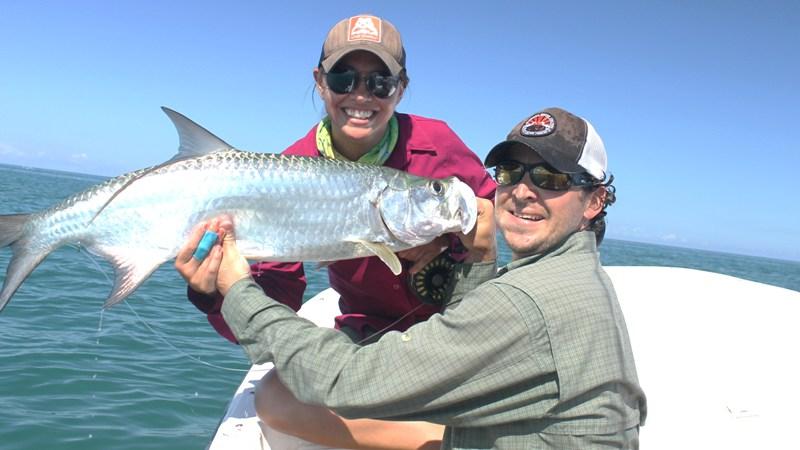 Light tackle adventure tarpon fishing boqueron bay fly for Fly fishing puerto rico