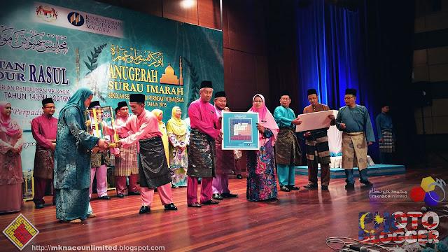 Keputusan Pertandingan Surau Imarah Sekolah-Sekolah Kementerian Pendidikan Malaysia