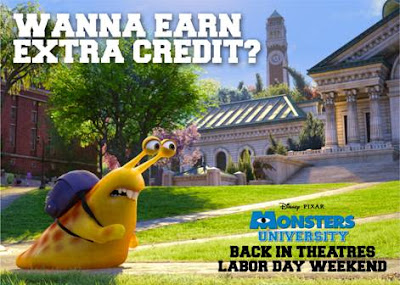 Earn extra credit with Monsters University