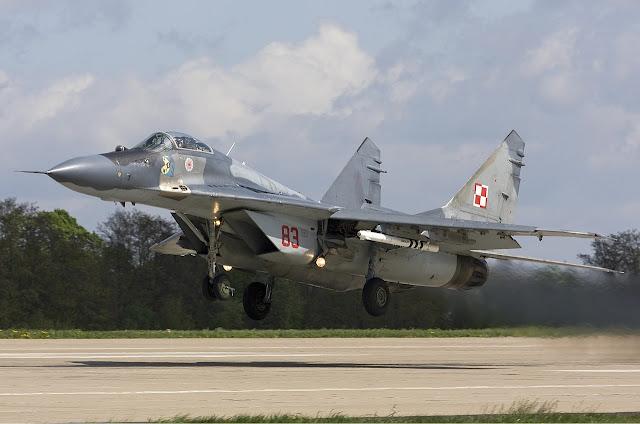 Polish MiG-29 Fulcrum